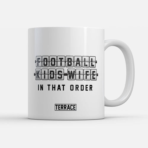 Football Kids Wife Mug-Mugs-The Terrace Store