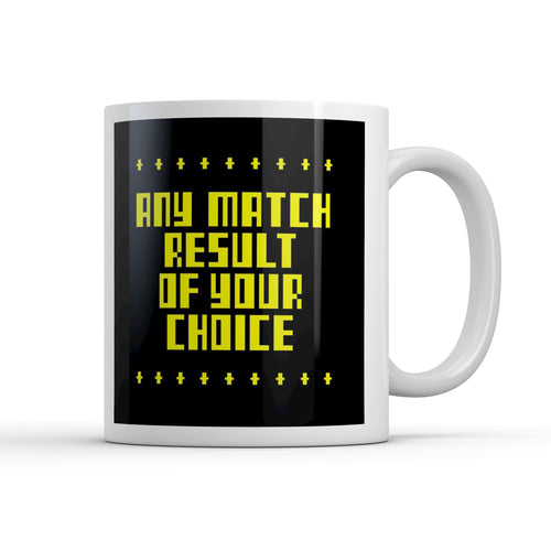 Request a Match Footie Fax Mug