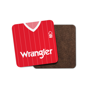 Nottingham Forest 1984 Home Coaster-Coaster-The Terrace Store
