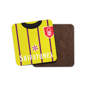 Nottingham Forest 1991 Keeper Coaster-Coaster-The Terrace Store