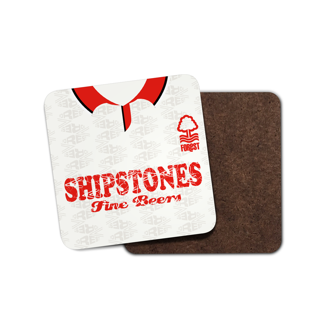 Nottingham Forest 1992 Away Coaster-Coaster-The Terrace Store