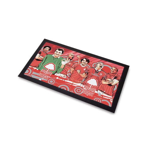 Nottingham Forest Legends Bar Runner