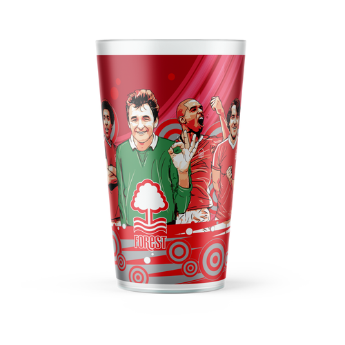 Nottingham Forest Legends Re-Usable Pint Cup
