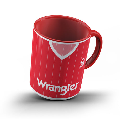 Limited Edition Nottingham Forest 1984 Red Handle & Inner Mug