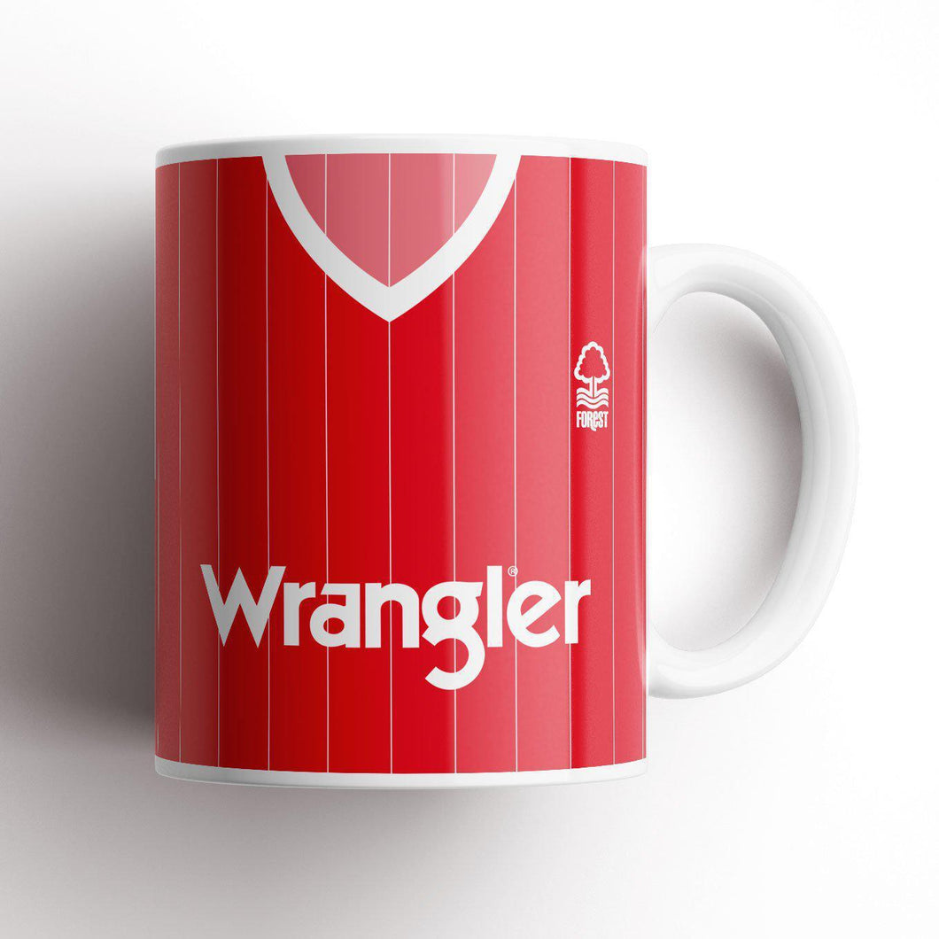 Nottingham Forest 1984 Home Mug-Mug-The Terrace Store