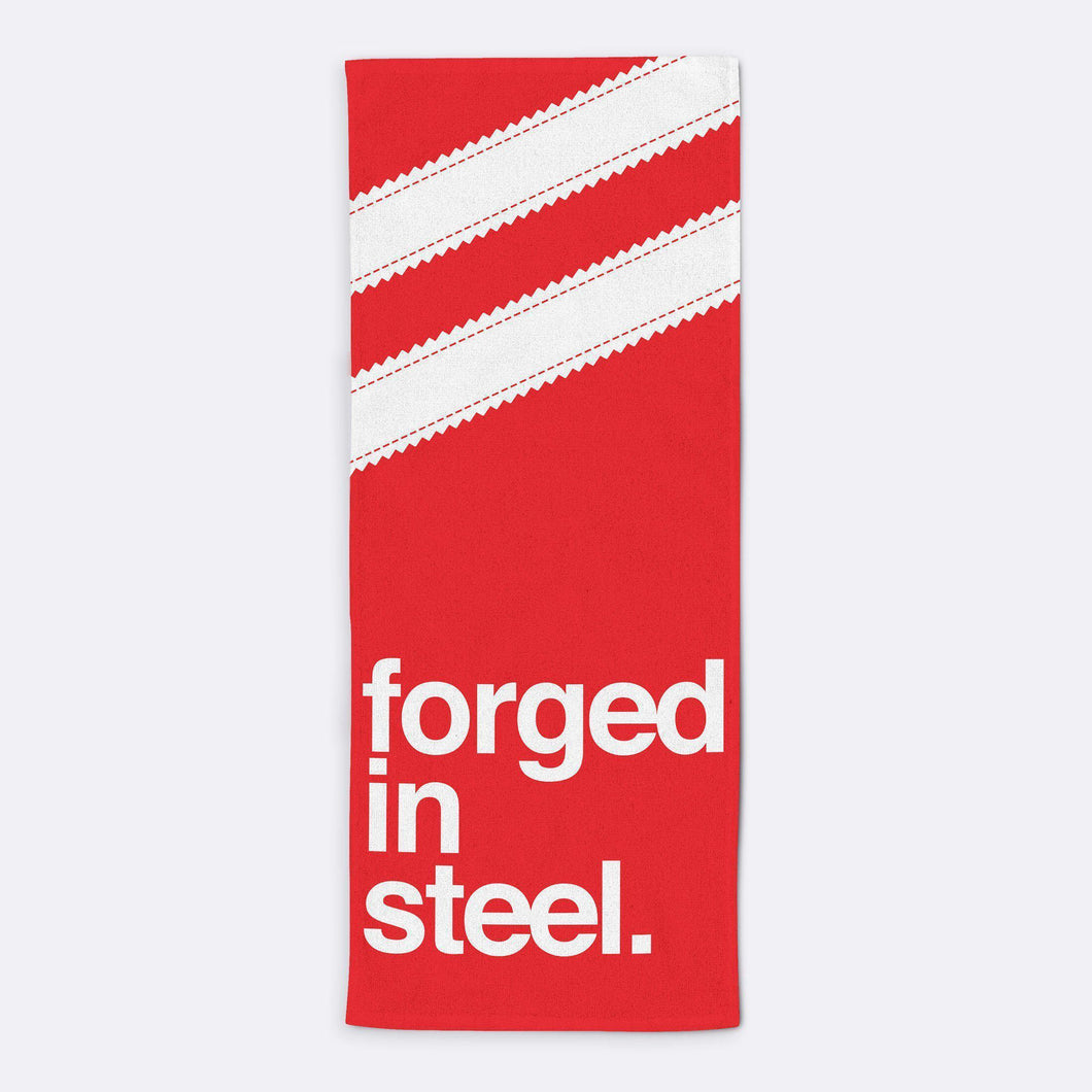 Forged in Steel Towel-Towels-The Terrace Store