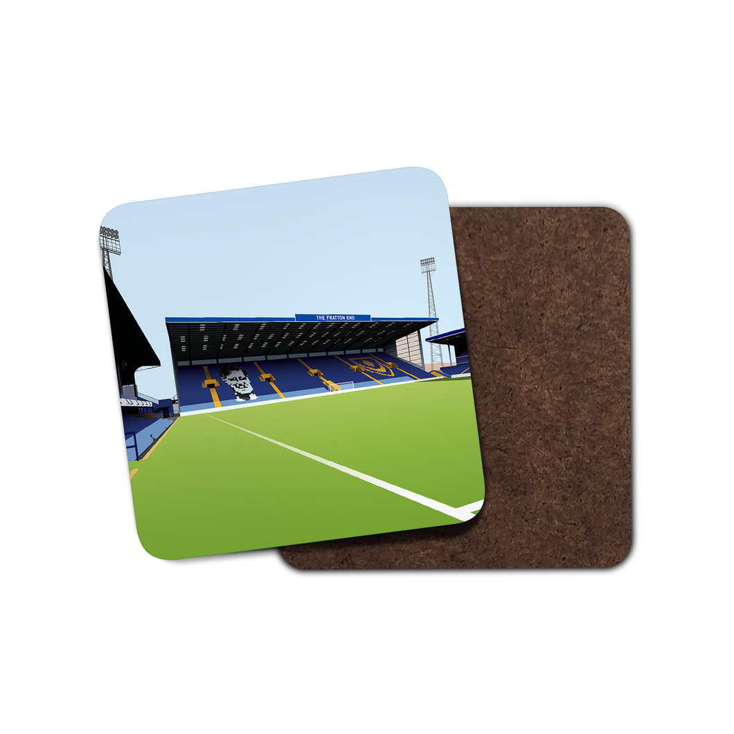 Fratton Park Illustrated Coaster-Coaster-The Terrace Store