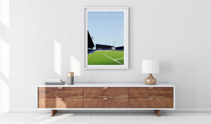 Fratton Park Illustrated Poster-Posters-The Terrace Store