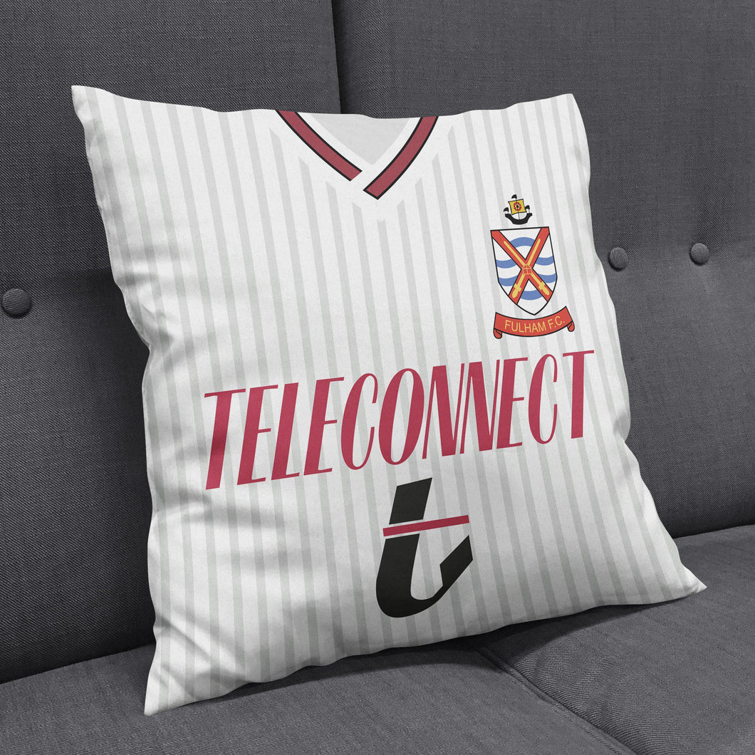Fulham 1990 Kit Cushion