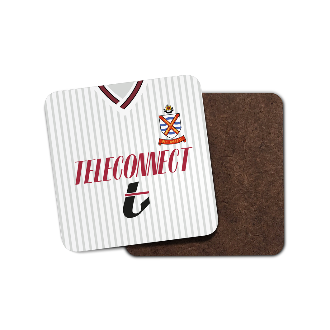 Fulham 1990 Home Coaster-Coaster-The Terrace Store