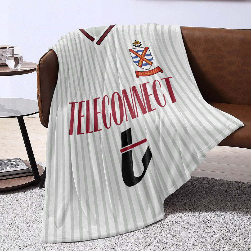 Fulham 1990 Home Retro Blanket Throw-Blanket-The Terrace Store
