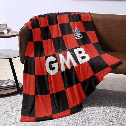 Fulham 1997 Away Retro Blanket Throw-Blanket-The Terrace Store