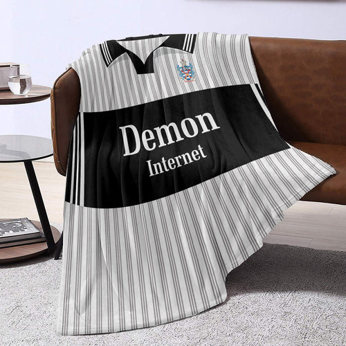 Fulham 1999 Home Retro Blanket Throw-Blanket-The Terrace Store