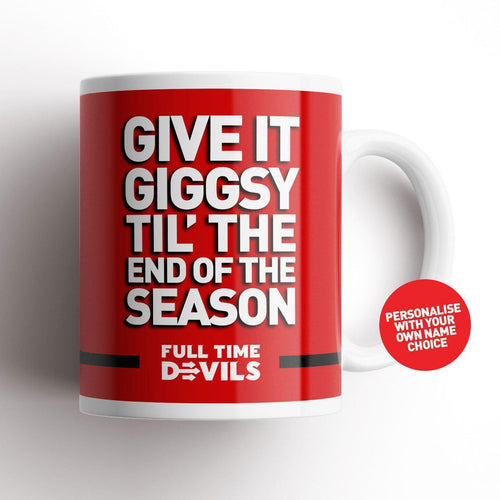 Full Time Devils Giggsy Mug