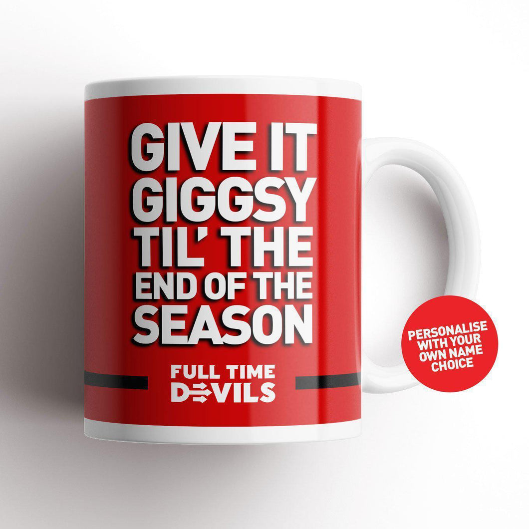 Full Time Devils Giggsy Mug-Mugs-The Terrace Store