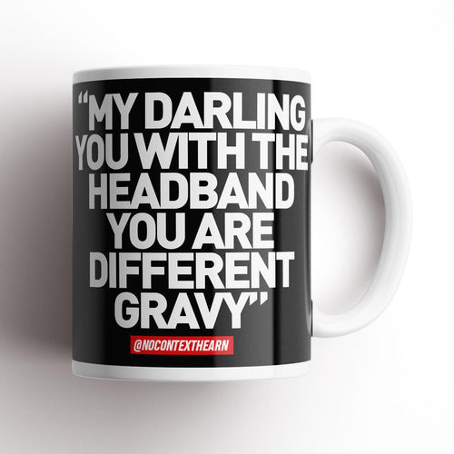 Different Gravy Black Mug