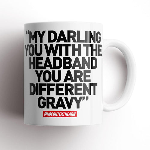Different Gravy White Mug-NCH MUG-The Terrace Store