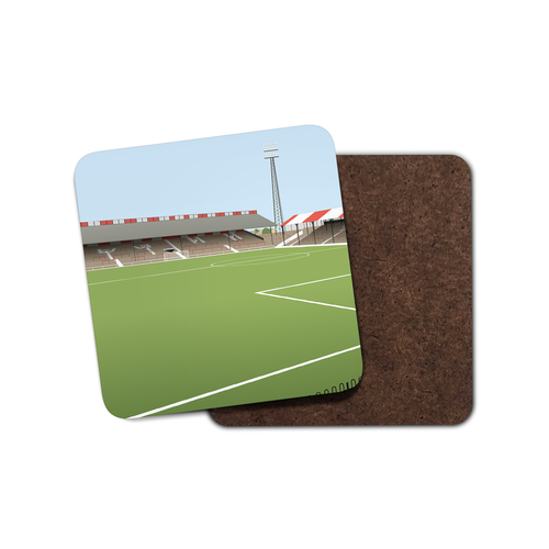 Griffin Park Illustrated Coaster