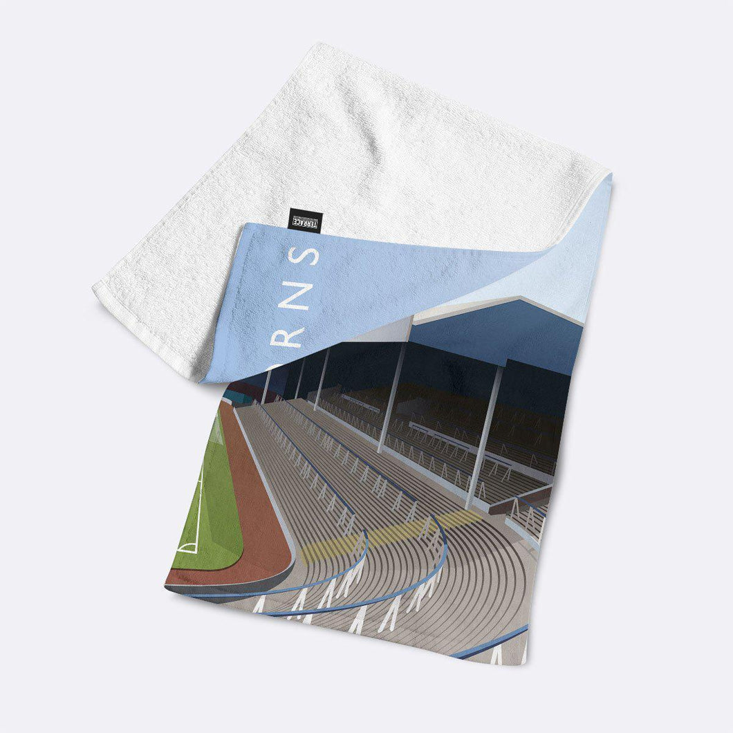 Hawthorns Illustrated Towel-Towels-The Terrace Store