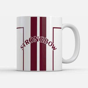Hearts 1999 Away Retro Inspired Mug-Mugs-The Terrace Store