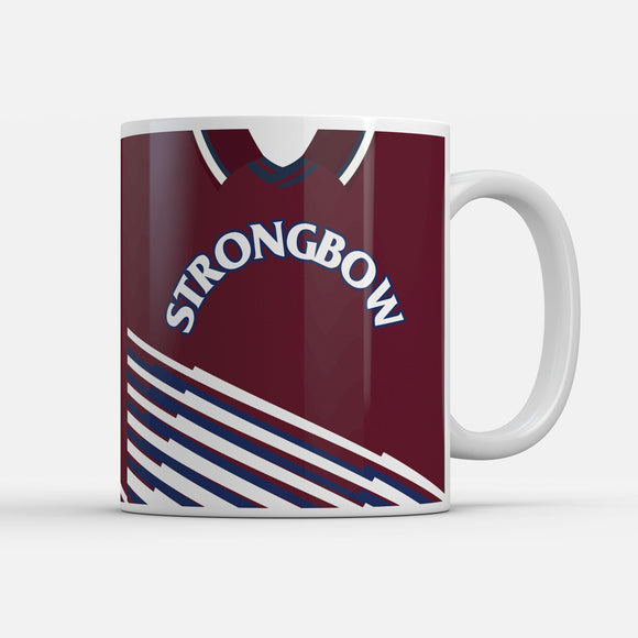 Hearts 1998 Home Retro Inspired Mug
