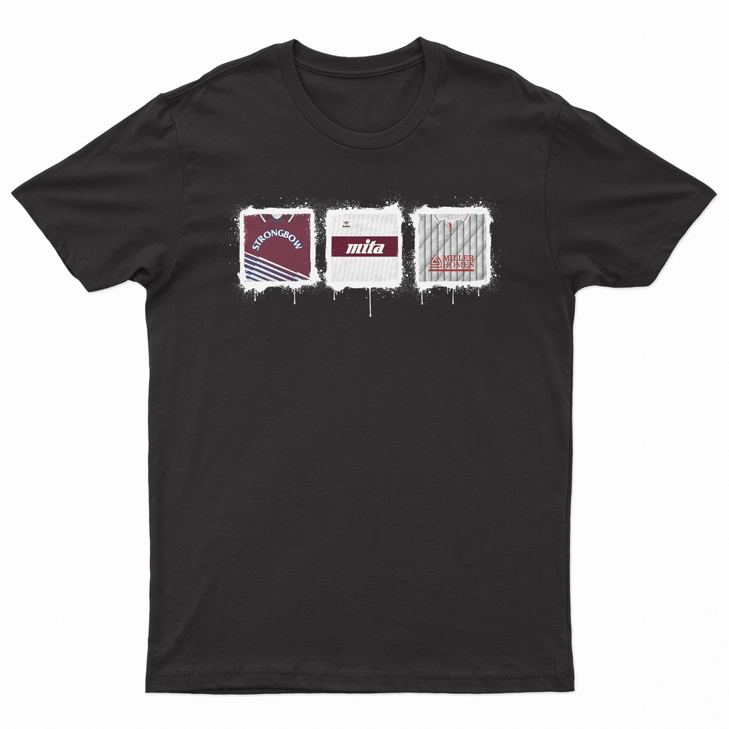 Hearts Kit Culture Black T Shirt-T Shirt-The Terrace Store