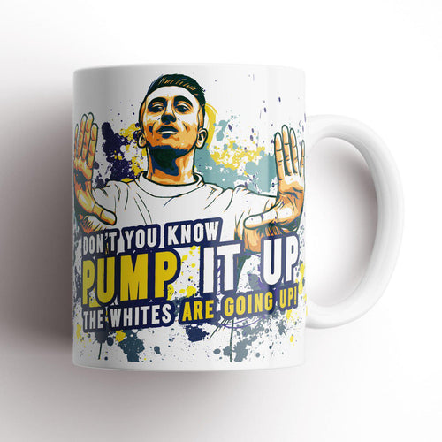 Grady Draws Leeds Hernandez Pump It Up Mug