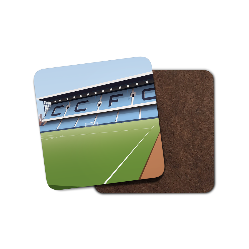 Highfield Road Illustrated Coaster-Coaster-The Terrace Store