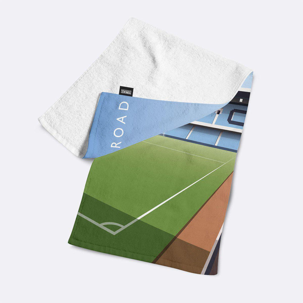Highfield Road Illustrated Towel-Towels-The Terrace Store