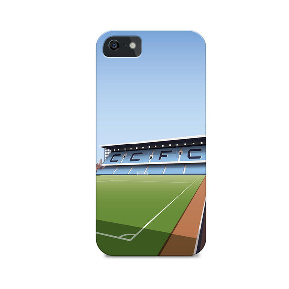 highfield road illustrated phone case
