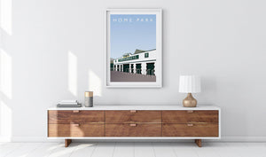 Home Park Illustrated Poster-Posters-The Terrace Store