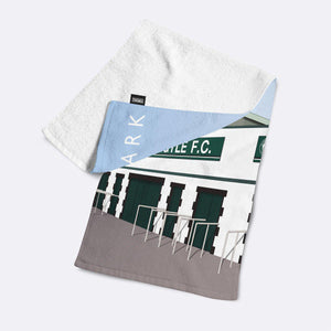 Home Park Illustrated Towel-Towels-The Terrace Store