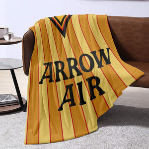 Hull City 1985 Retro Blanket Throw-Blanket-The Terrace Store