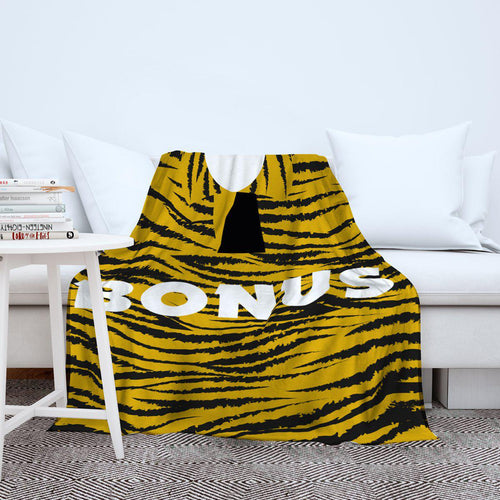 Hull City 1994 Home Retro Blanket Throw