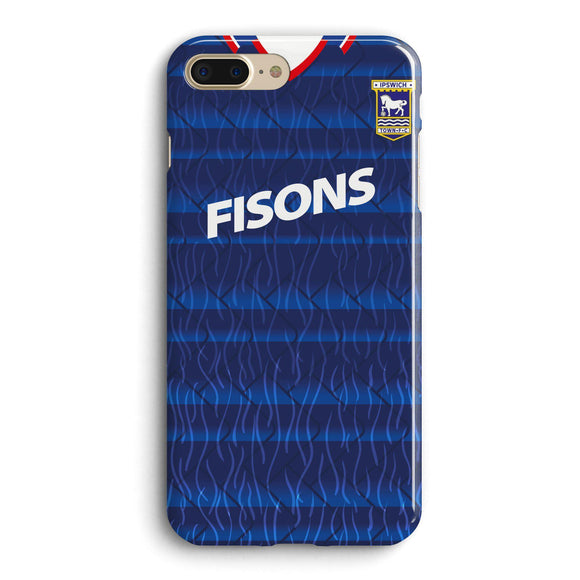 ipswich town retro kit phone cases