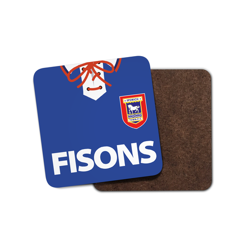 Ipswich Town 1994 Home Coaster-Coaster-The Terrace Store