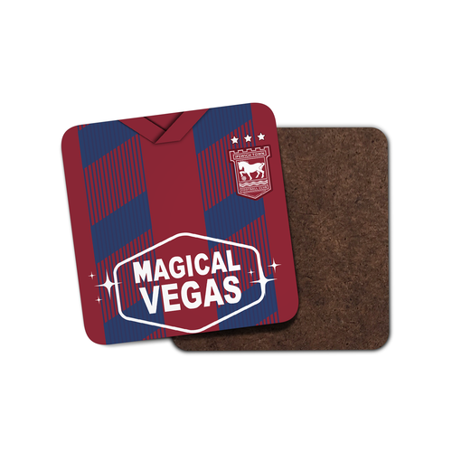 Ipswich 19-20 Away Coaster-Coaster-The Terrace Store