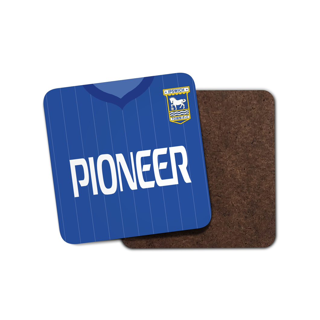 Ipswich Town 1981-82 Home Coaster-Coaster-The Terrace Store