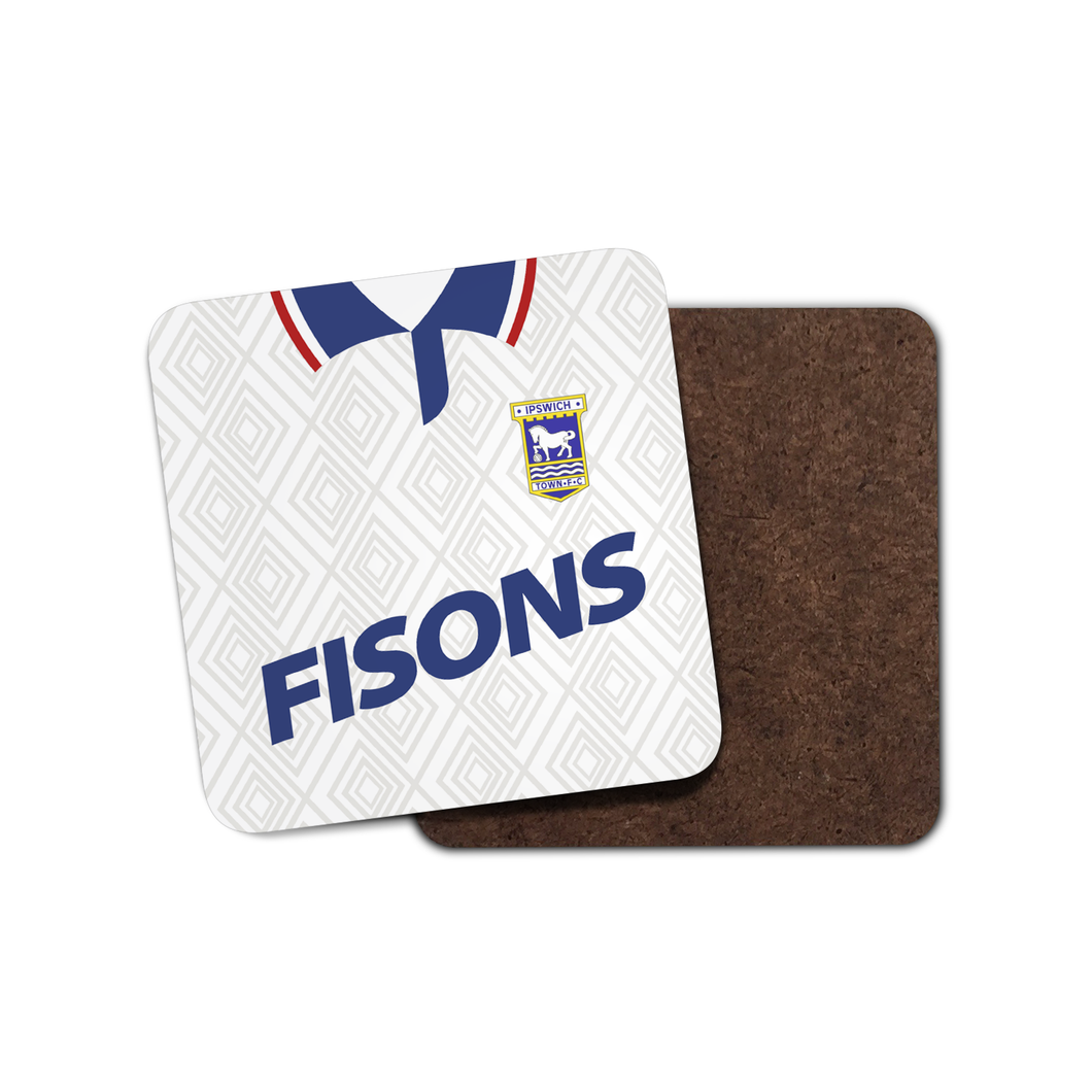 Ipswich Town 1991 Away Coaster-Coaster-The Terrace Store