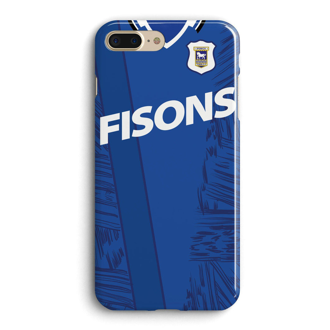 Ipswich Town 1995 Home Phone Case-CASES-The Terrace Store