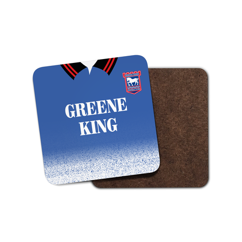 Ipswich Town 1997 Home Coaster-Coaster-The Terrace Store