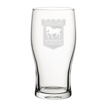 Load image into Gallery viewer, Ipswich Town Engraved Pint Glass