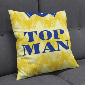 Leeds '90 Away Cushion-Cushions-The Terrace Store