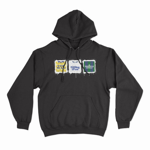 Leeds Kit Culture Black Hoodie-Hoodie-The Terrace Store