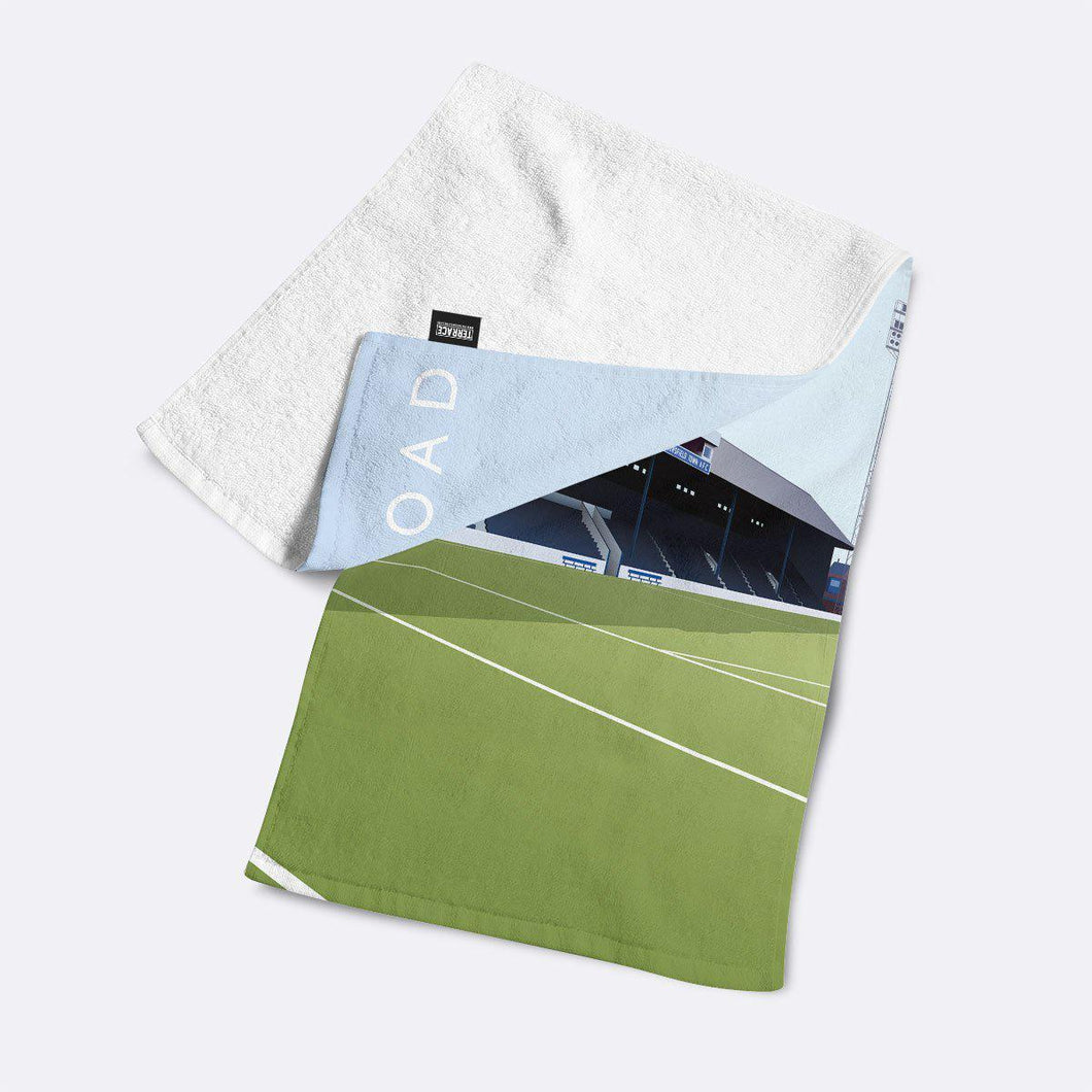 Leeds Road Illustrated Towel-Towels-The Terrace Store