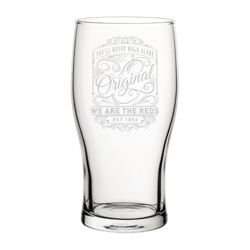 Liverpool Originals Engraved Pint Glass
