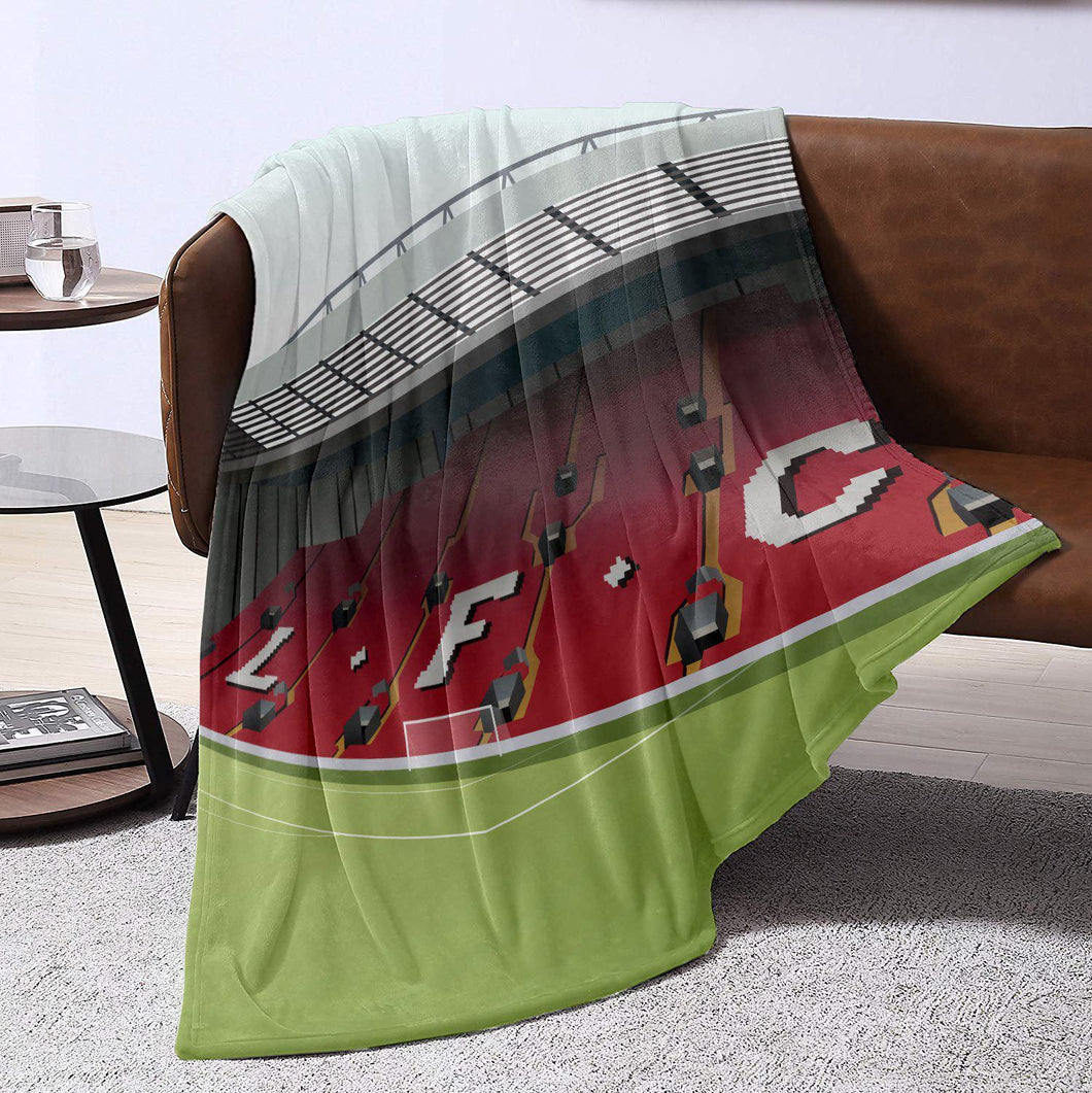Anfield Illustrated Blanket Throw
