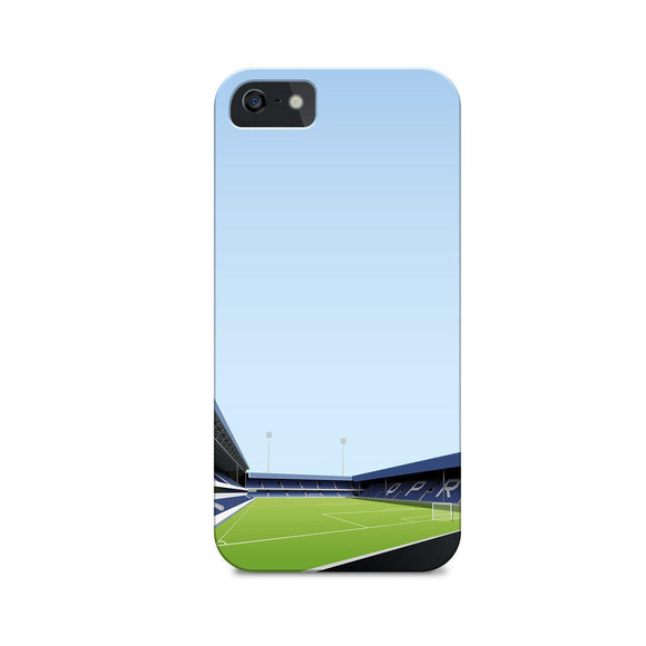 loftus road illustrated phone case