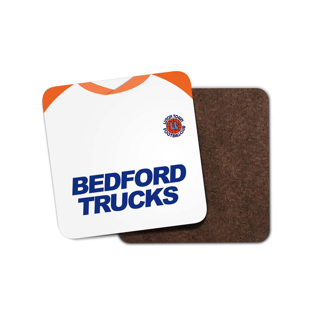 Luton Town 1983 Home Coaster-Coaster-The Terrace Store