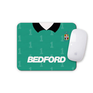 Luton Town 1990 Keeper Mouse Mat-Mouse mat-The Terrace Store